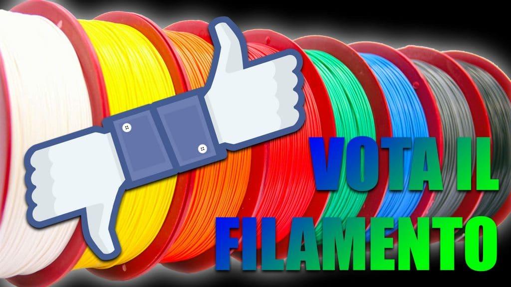 Vota Il Tuo Filamento Preferito!